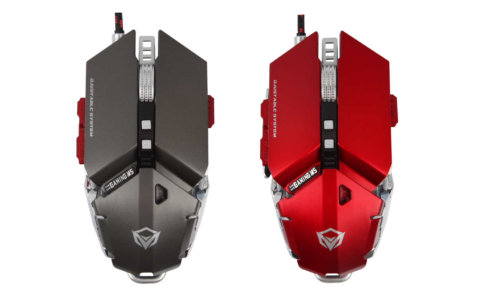 Mouse Meetion M985 Grey Optical USB - Gaming