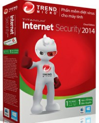 Trend Micro Titanium Maximum Security 2014 3PC - Box