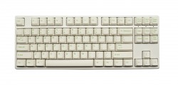Bàn phím cơ Ducky One TKL PBT White Brown switch