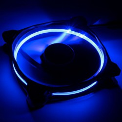 Fan Case SAMA HALO 120mm LED RIING BLUE