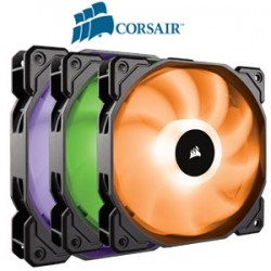 FAN CORSAIR SP 120 RGB LED - Hộp 3 FAN - with controller ( Quạt tản nhiệt)