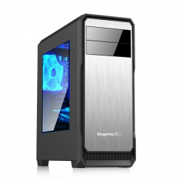 Vỏ case Segotep The Wind Mid Tower (Black-Silver)