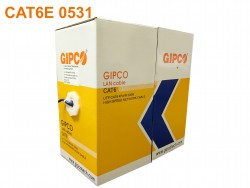 Cable Mạng GIPCO - UTP CAT6 - 0531