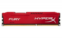 Ram Kingston 8G 1600MHZ DDR3 CL10 Dimm Fury Red HX316C10FR/8
