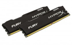 RAM Kingston HyperX Fury Black 16G DDR4 Bus 2400Mhz CL15 Kit of 2 - HX424C15FBK2/16