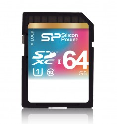 Silicon Power - SD Card 64GB UHS-I Class 10