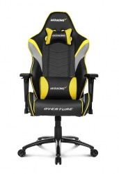 Ghế game AKRacing OVERTURE SERIES K601O Black/Yellow