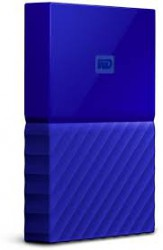 Ổ cứng di động WD My Passport 4TB Blue Worldwide