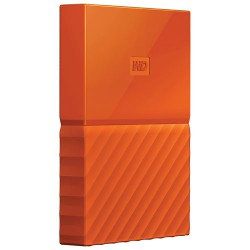 Ổ cứng di động WD My Passport 4TB Orange Worldwide