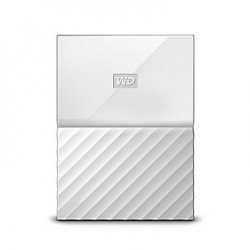 Ổ cứng di động WD My Passport 4TB White Worldwide