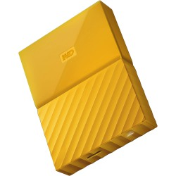 Ổ cứng di động WD My Passport 2TB Yellow Worldwide
