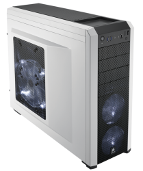 Corsair Carbide Series® 500R White Mid-Tower Case
