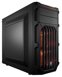 Corsair Carbide Series® SPEC-03 Orange LED Mid-Tower Gaming Case