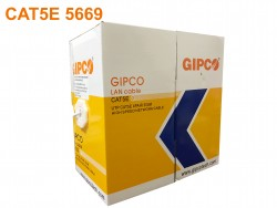 Cable mạng GIPCO - UTP CAT5E - 5669