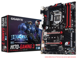 Mainboard GIGABYTE GA H170 Gaming 3 DDR4