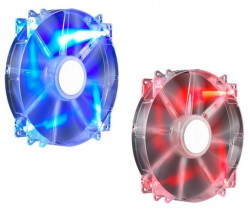 Fan case Cooler Master FAN MegaFlow 200 Blue/RED LED