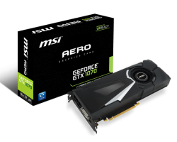 VGA MSI GeForce GTX 1070 AERO 8G