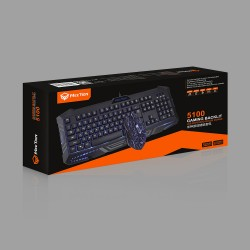 Bộ Key Mouse Meetion 5100 Led Gaming Combo - USB
