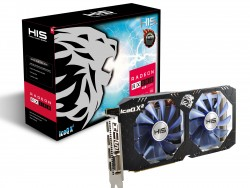 Vga HIS RX 580 IceQ X2 OC 4GB DDR5 256 bit